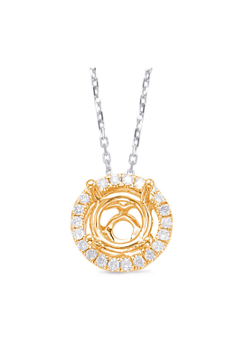 OPJ Signature Halo Necklace P3192-50YG product image