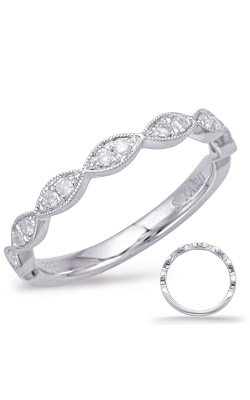 Deutsch & Deutsch Bridal Stackables Wedding Band EN7897-BWG product image