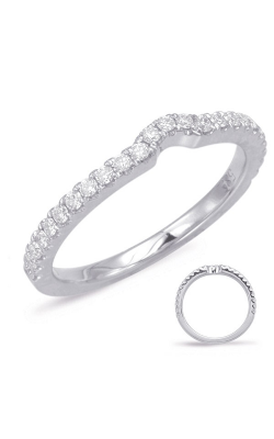 Deutsch & Deutsch Bridal Curved Wedding Band EN7926-BWG product image