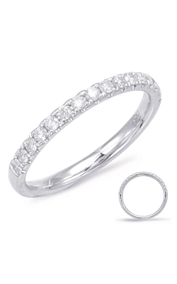 S Kashi & Sons Prong Set Wedding Band EN7927-B10WG product image