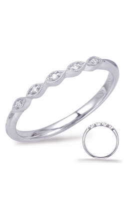 Deutsch & Deutsch Bridal Stackables Wedding Band EN7930-BWG product image
