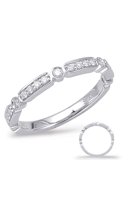 S Kashi & Sons Stackables Wedding Band EN7942-BWG product image