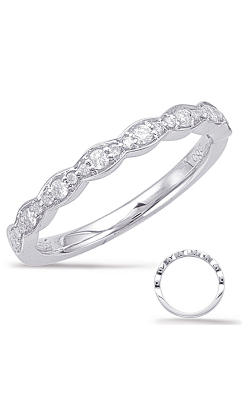 Deutsch & Deutsch Bridal Stackables Wedding Band EN7948-BWG product image