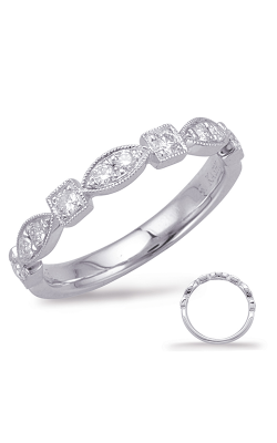 Deutsch & Deutsch Bridal Stackables Wedding Band EN7970-BWG product image