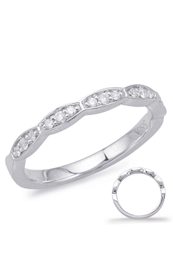 S Kashi & Sons Stackables Wedding Band EN7993-BWG product image