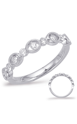 Deutsch & Deutsch Bridal Stackables Wedding Band EN8016-BWG product image