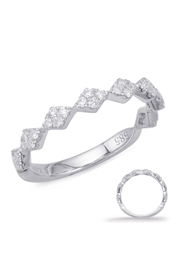 Deutsch & Deutsch Bridal Stackables Wedding Band EN8025-BWG product image