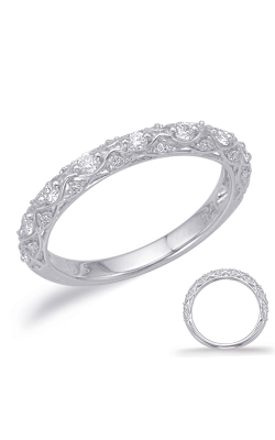 Deutsch & Deutsch Bridal Stackables Wedding Band EN8033-BWG product image