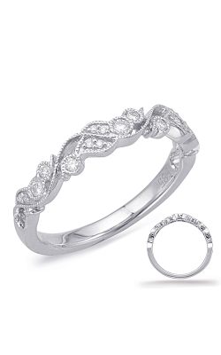 Deutsch & Deutsch Bridal Stackables Wedding Band EN8036-BWG product image