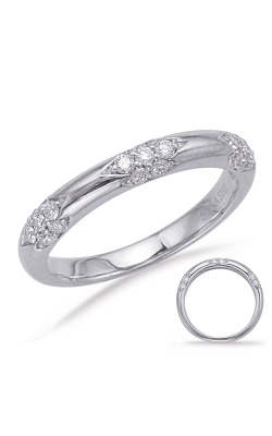 S Kashi & Sons Stackables Wedding Band EN8052-BWG product image