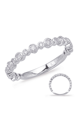 Deutsch & Deutsch Bridal Stackables Wedding Band EN8054-BWG product image