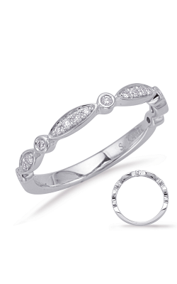 Deutsch & Deutsch Bridal Stackables Wedding Band EN8056-BWG product image