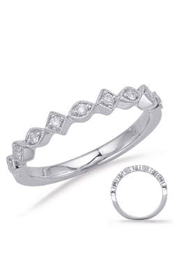 S Kashi & Sons Stackables Wedding Band EN8057-BWG product image