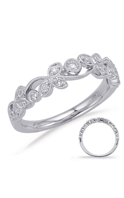 Deutsch & Deutsch Bridal Stackables Wedding Band EN8061-BWG product image