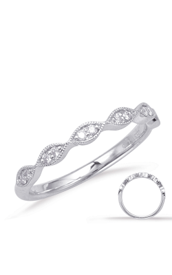 Deutsch & Deutsch Bridal Stackables Wedding Band EN8048-BWG product image