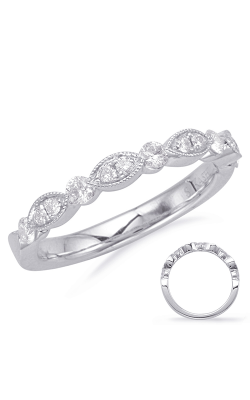 Deutsch & Deutsch Bridal Stackables Wedding Band EN8055-B10WG product image