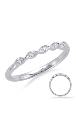 Deutsch & Deutsch Bridal Stackables Wedding Band EN8066-B7X5MWG product image