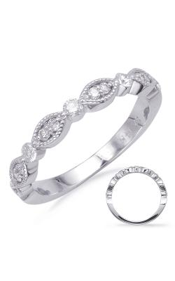 Deutsch & Deutsch Bridal Stackables Wedding Band EN8088-BWG product image