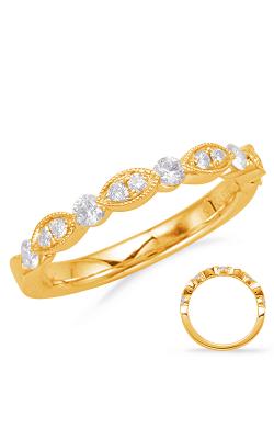 S Kashi & Sons Stackables Wedding Band EN8055-B10YG product image