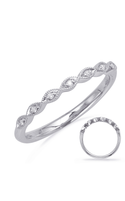 Deutsch & Deutsch Bridal Stackables Wedding Band EN8096-BWG product image
