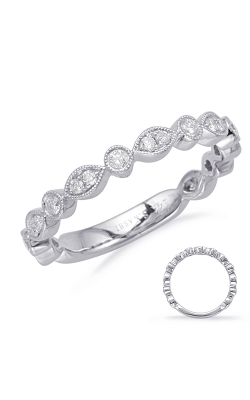 S Kashi & Sons Stackables Wedding Band EN8097-BWG product image