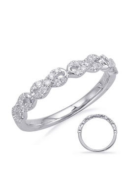 Deutsch & Deutsch Bridal Stackables Wedding Band EN8107-BWG product image