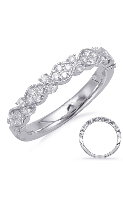 S Kashi & Sons Stackables Wedding Band EN8108-BWG product image
