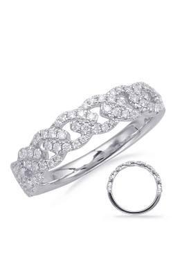 S Kashi & Sons Stackables Wedding Band EN8110-BWG product image