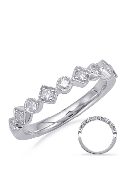 S Kashi & Sons Stackables Wedding Band EN8117-BWG product image