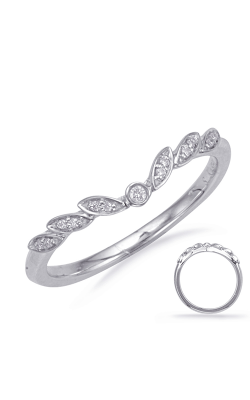 Deutsch & Deutsch Bridal Curved Wedding Band EN8067-B7X5MWG product image