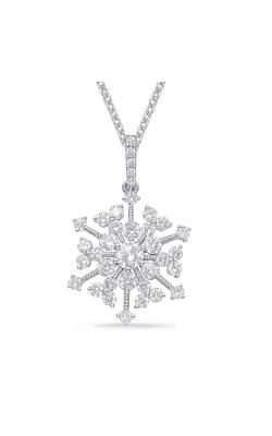 OPJ Signature Snowflake Pendant P3303WG product image