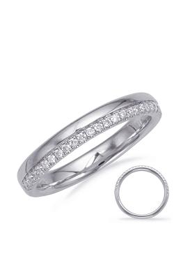 Deutsch & Deutsch Bridal Prong Set Wedding band EN8136-BWG product image