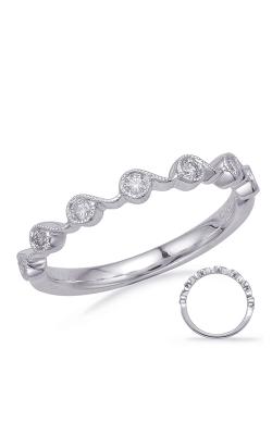 Deutsch & Deutsch Bridal Stackables Wedding band EN8146-BWG product image