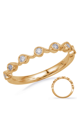 S Kashi & Sons Stackables Wedding band EN8146-BYG product image