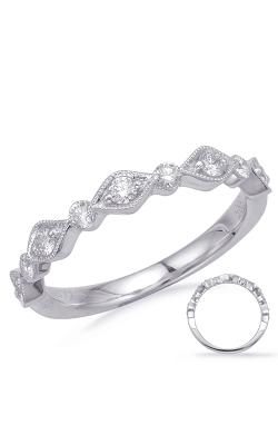 Deutsch & Deutsch Bridal Stackables Wedding band EN8148-BWG product image