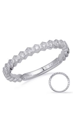 Deutsch & Deutsch Bridal Stackables Wedding band EN8149-BWG product image