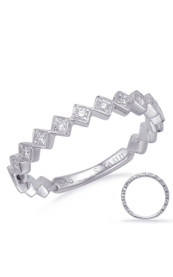 Deutsch & Deutsch Bridal Stackables Wedding band EN8150-BWG product image