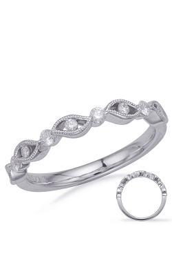 S Kashi & Sons Stackables Wedding band EN8160-BWG product image