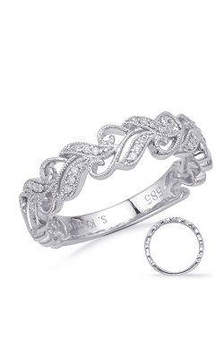 Deutsch & Deutsch Bridal Vintage Wedding band EN8172-B10WG product image
