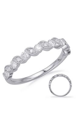 Deutsch & Deutsch Bridal Stackables Wedding band EN8176-BWG product image