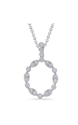 S Kashi & Sons Fashion Diamond Necklace P3309WG product image