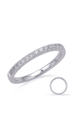 Deutsch & Deutsch Bridal Prong Set Wedding Band EN8217-B6X4MWG product image