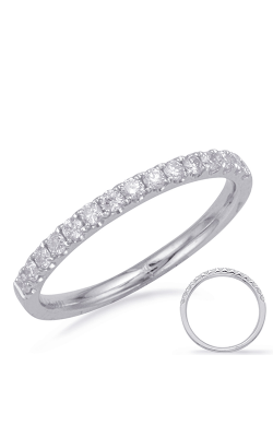 Deutsch & Deutsch Bridal Prong Set Wedding Band EN8201-BWG product image