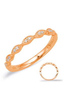 Deutsch & Deutsch Bridal Stackables Wedding band EN8038-B33RG product image