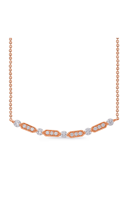 OPJ Signature Diamond Necklace N1226RG product image