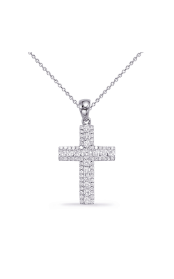 OPJ Signature Crosses Necklace P3321WG product image