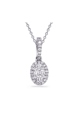 OPJ Signature Diamond Necklace P3324WG product image