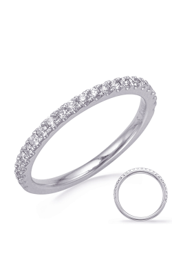 Deutsch & Deutsch Bridal Classic Wedding Band EN8285-B75WG product image