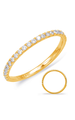 OPJ Signature Prong Set Wedding Band EN7785-BYG product image