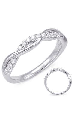 Deutsch & Deutsch Bridal Bypass Wedding Band EN7831-B33WG product image